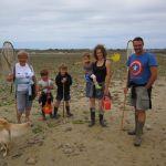 Découverte de la pêche à pied avec Michel et Maryvonne, Presqu\île Greeters Pleubian