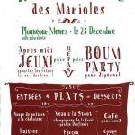 Repas de Noël des Marioles Plounéour-Ménez