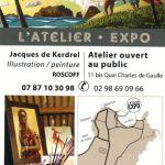 L\Atelier-Expo Illustration / Peinture Roscoff