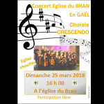 Concert - Chorale Crescendo Gaël