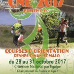 Les 4 jours de course d\orientation Breizh\C.O. - Championnat de France de Sprint en Course d\Orientation Rennes