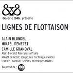 Exposition Alain Blondel, Camille Grandval et Mikael Demezet Saint-Briac-sur-Mer