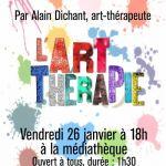 Rencontre - Conférence \L'art-thérapie, une thérapie ça crée\ Landerneau