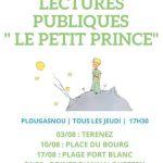 Lectures Publiques du \Petit Prince\ Plougasnou