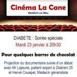 Soirée cinéma et échange : diabète Montfort-sur-Meu