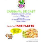 Carnaval de Cast suivi d\une tartiflette Cast