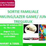 Sortie familiale Bowling / Laser Game / Jumpi Rostrenen