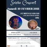 Concert avec P\tit Lion et Amandine, finaliste de \The Voice Kids\ Saint-Méen-le-Grand