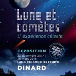 Exposition : « Lune et Comètes, l'expérience céleste » Dinard