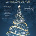 Le Mystère de Noël - Maison Saint-Yves illuminée Saint-Brieuc
