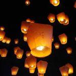 Lâcher de lanternes à La Vraie-Croix LA VRAIE CROIX