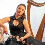 Concert de Nolwenn Arzel, harpe celtique PLUNERET