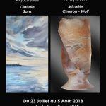 Exposition de sculptures et d\aquarelles ROCHEFORT EN TERRE