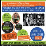 24h de course pour la ligue contre le cancer du Morbihan LE HEZO