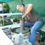 Mardis de Pays  - Démonstration de poterie sur tour à bâton ROCHEFORT EN TERRE