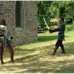 Escrime médiévale au Camp des Rouëts MOHON
