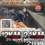 Trail nocturne touchois TNT Les Touches
