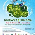 Festyvolley 2018, tournoi de volley-ball Pannecé