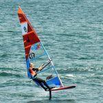 Windsurf et winfoil à Kerguelen Larmor-Plage