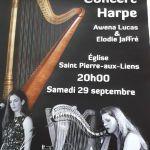 Concert - Harpe Arzano