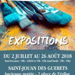 Lez'Arts en été : Jacqueline Leroux et Claudine Rivière Saint-Jouan-des-Guérets