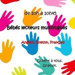 Bébés lecteurs multilingues Mellac