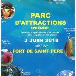 Le SIVU fait son festival : parc d\attraction éphémère Saint-Père