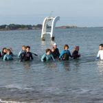 Marche aquatique au Kélenn Carantec