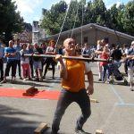 Initiation au Gouren et jeux de force bretons Guingamp