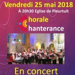 Concert : Chorale Chanterance Pleurtuit