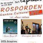 L\été sur la place Rosporden