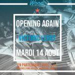 \Opening Again\ au Woop Beach Dinard