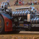 Championnat de France de tracteur pulling Mouzeil