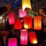 Soirée aux lampions et en musique dans l'enclos du port Lorient