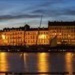 Nantes vue de la Loire Vertou