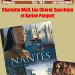 Dédicace autour de Nantes T2 Nantes